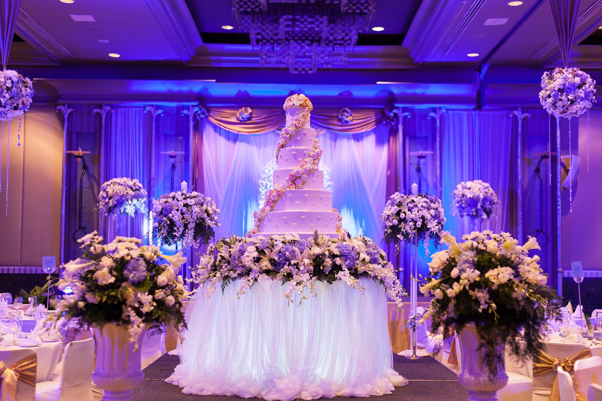 Wedding decoration background 3