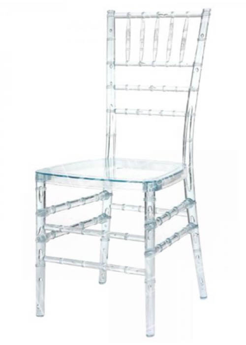 Transparent / Ghost Chiavari chairs