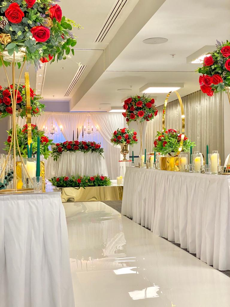 Venue decorations 112
