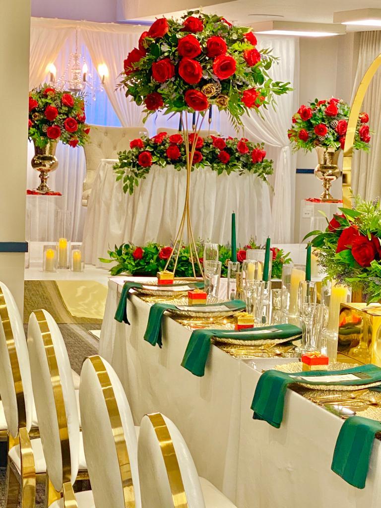 Venue decorations 113